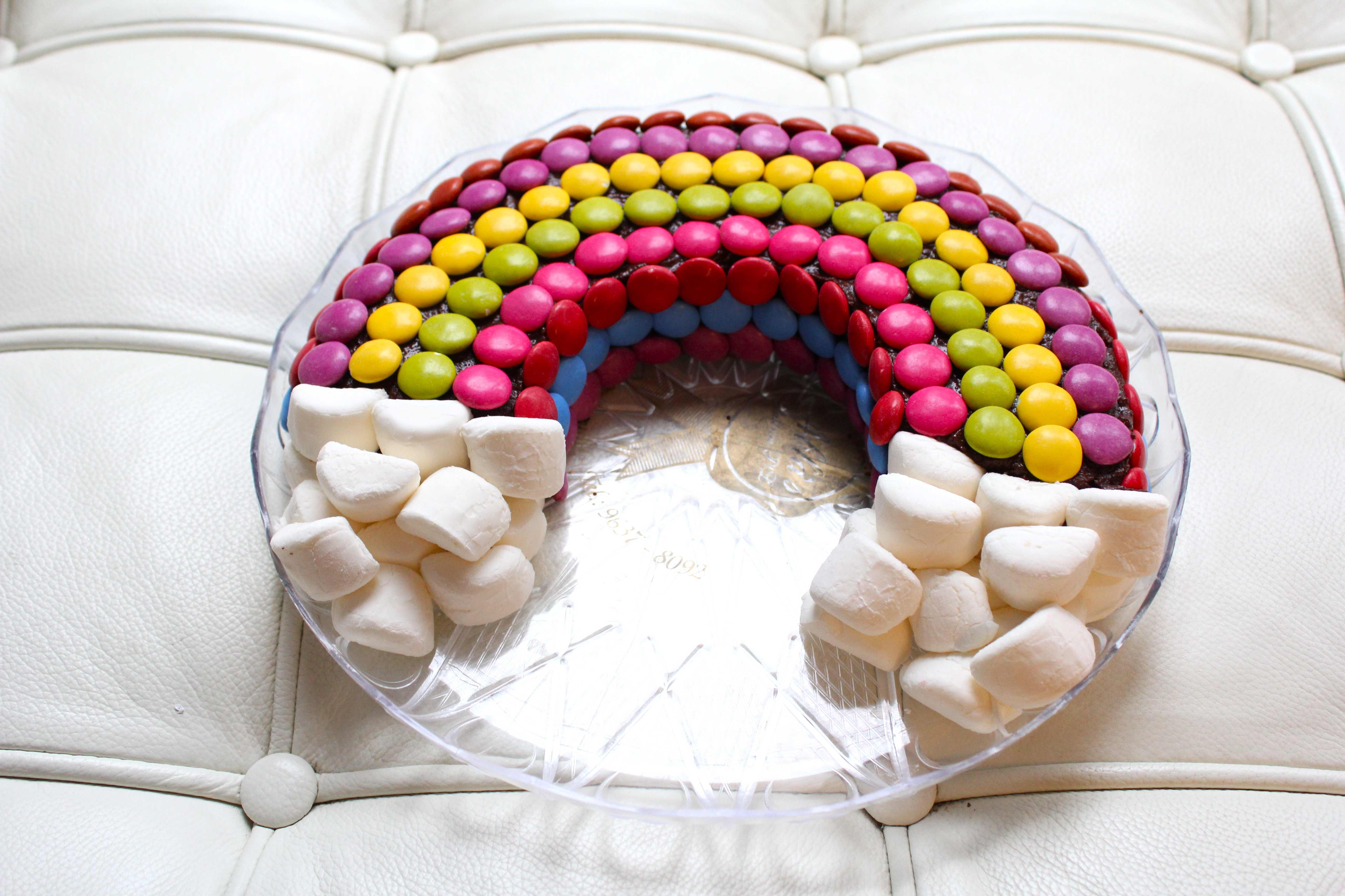 Chocolate Rainbow Cake Sugar And Cinnamon