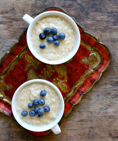 Creamy Vanilla Rice Pudding (vegan and gluten free) | Sugar and ...