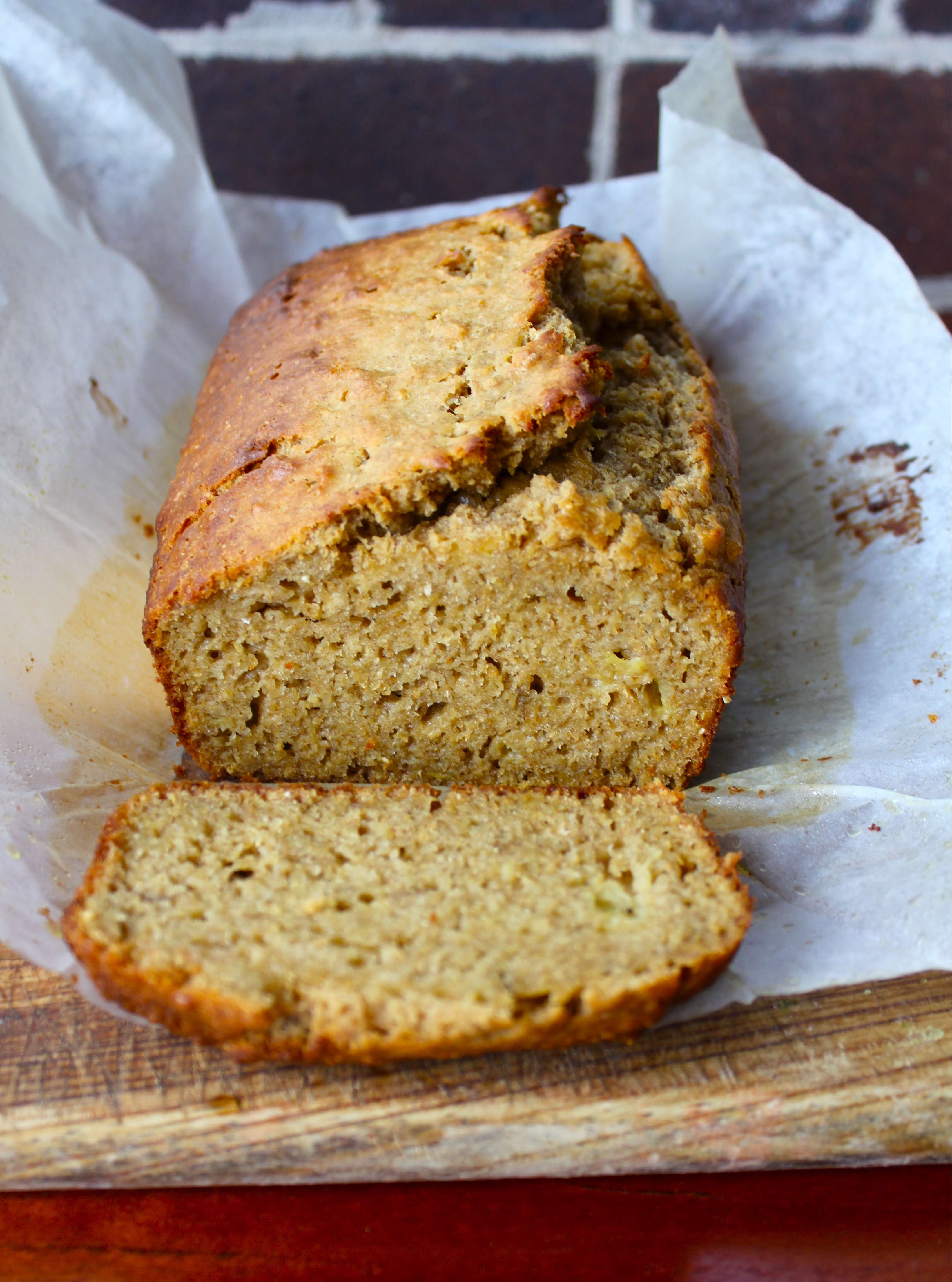 Wholesome Vegan Banana Bread | Sugar and Cinnamon